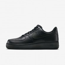 744HNKIO Womens Black Nike Air Force 1 07 Lifestyle Shoes