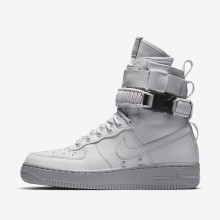 770GPXOZ Womens Vast Grey/Atmosphere Grey Nike SF Air Force 1 Lifestyle Shoes