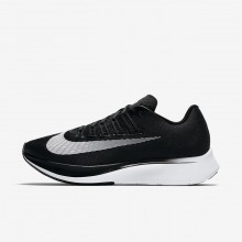 778GUNSZ Womens Black/Anthracite/Wolf Grey/White Nike Zoom Fly Running Shoes