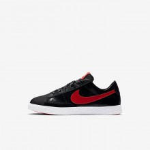 791MBTVO Chaussure Casual Nike Blazer Low QS Fille Noir/Corail/Rouge