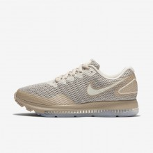 791WIRLD Womens Moon Particle/Sand/Sail Nike Zoom All Out Low 2 Running Shoes