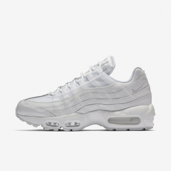 838OVWBH Chaussure Casual Nike Air Max 95 OG Femme Blanche