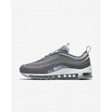 841KAJQI Womens Atmosphere Grey/Gunsmoke/Summit White Nike Air Max 97 Ultra 17 LX Lifestyle Shoes