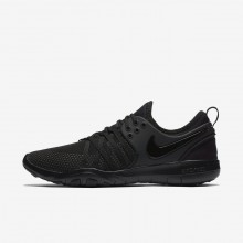 859QDIZA Womens Black/Dark Grey Nike Free TR7 Training Shoes