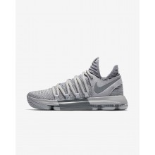 866EAWFL Womens Wolf Grey/Cool Grey Nike Zoom KDX Basketball Shoes