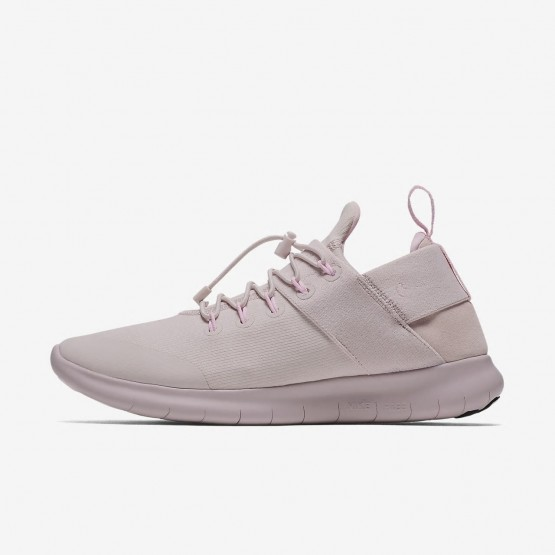 904OHKTL Womens Barely Rose/Arctic Pink Nike Free RN Commuter 2017 DX Running Shoes
