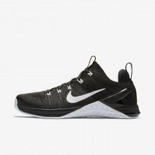932ZGQUX Womens Black/White Nike Metcon DSX Flyknit 2 Training Shoes