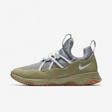 978PTHXZ Womens Medium Olive/Neutral Olive/Gum Medium Brown/Summit White Nike City Loop Lifestyle Shoes
