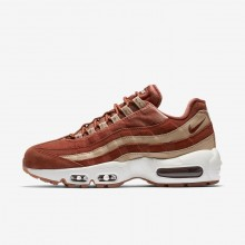 979DNWPC Womens Dusty Peach/Bio Beige/Summit White Nike Air Max 95 LX Lifestyle Shoes