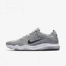 980DPAKN Womens Wolf Grey/White/Anthracite Nike Air Zoom Fearless Flyknit Lux Training Shoes