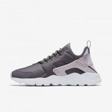 992GOEPQ Womens Gunsmoke/Particle Rose/White/Vast Grey Nike Air Huarache Ultra Lifestyle Shoes